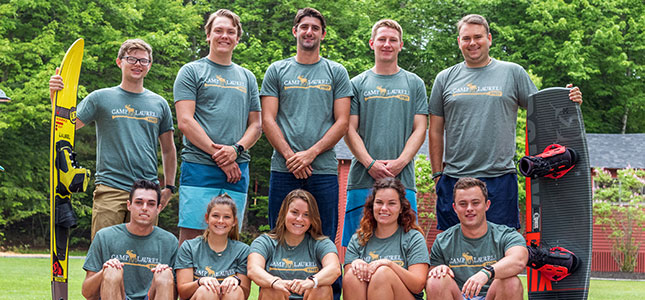 Waterskiing Staff