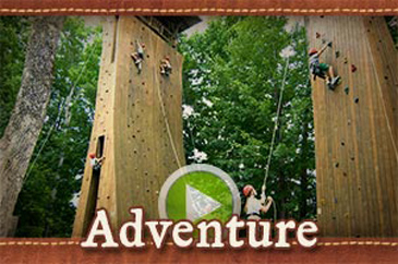 Summer camp adventure video