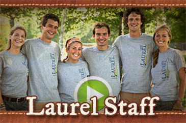 Camp Laurel summer camp staff video