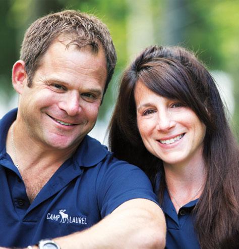 Jem and Debbie Sollinger, Directors of Camp Laurel