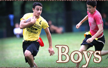 Boys program selection